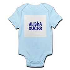 Alisha Sucks Infant Creeper