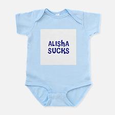 Alisha Sucks Infant Creeper