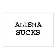 Alisha Sucks Postcards (Package of 8)