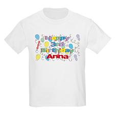 Anna's 3rd Birthday T-Shirt