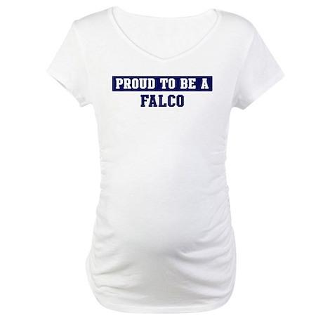 Proud to be Falco Maternity T-Shirt