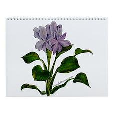 Cute Floral botanical Wall Calendar