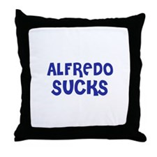 Alfredo Sucks Throw Pillow