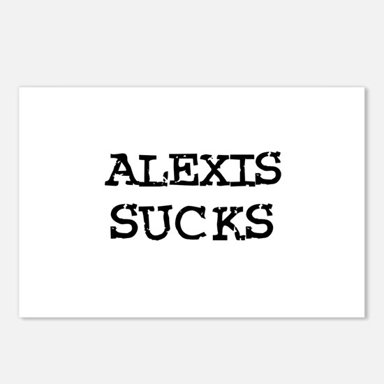 Alexis Sucks Postcards (Package of 8)