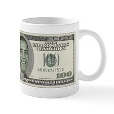 Barack Obama 100 Dollar Mug