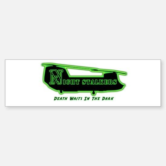 160th SOAR NightStalker's Bumper Car Car Sticker