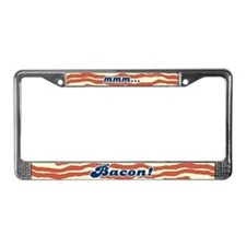 MMM Bacon License Plate Frame