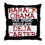 Deja Carter Throw Pillow