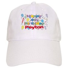 Peyton's 4th Birthday Baseball Cap