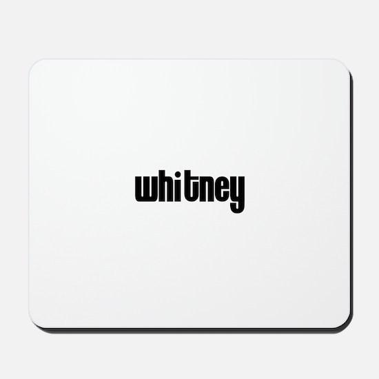 Whitney Mousepad