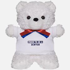 Proud to be Denton Teddy Bear