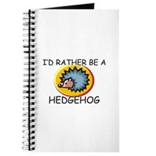 I'd Rather Be A Hedgehog Journal