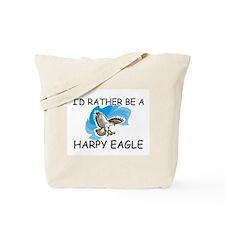 I'd Rather Be A Harpy Eagle Tote Bag
