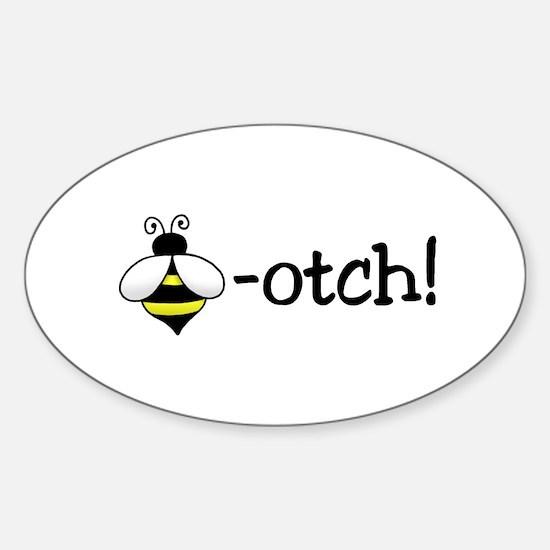 Beeotch Oval Stickers