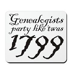 Party 1799 Mousepad