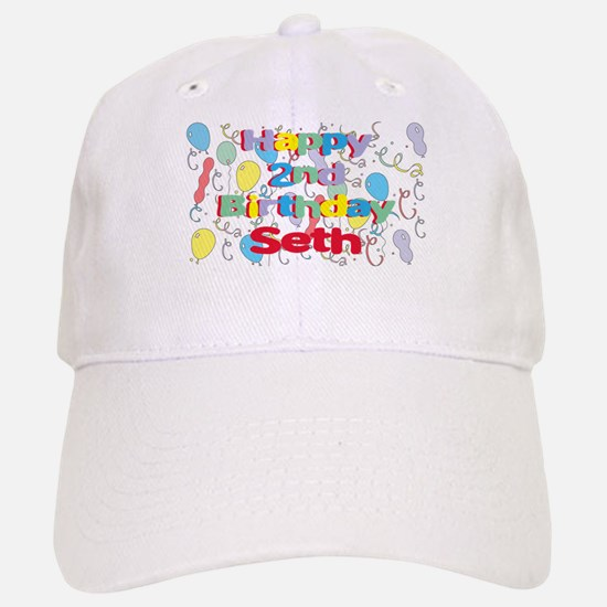 Seth's 2nd Birthday Baseball Baseball Cap