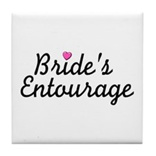 Bride's Entourage Tile Coaster