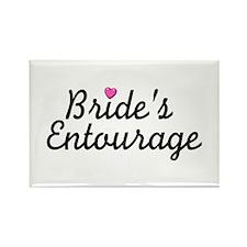 Bride's Entourage Rectangle Magnet