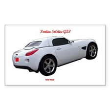 SOLSTICE GXP Rectangle Decal