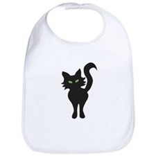 Black Cat Bib