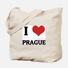 I Love Prague Tote Bag