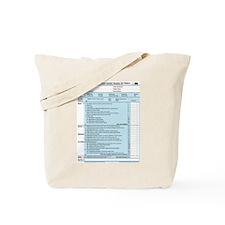 1040-DOG Income Tax Tote Bag