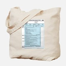 1040-DOG Income Tax Tote Bag