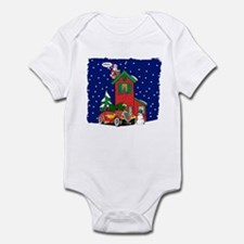 A Hot Rod For Christmas Infant Bodysuit