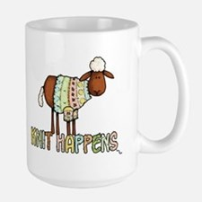 knit happens Coffee Mug