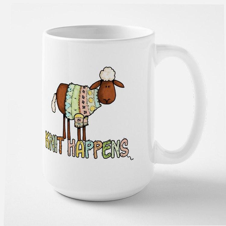 knit happens Mug