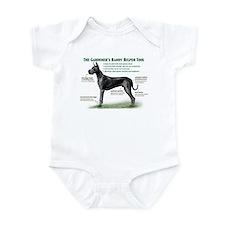 Gardener's Helper (Black) Infant Bodysuit