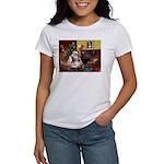 Santa's Shih Tzu (#1) Women's T-Shirt