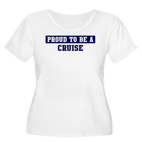Proud to be Cruise Women's Plus Size Scoop Neck T-