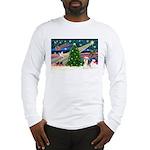 XmasMagic/Shih Tzu (#3) Long Sleeve T-Shirt