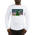 XmasMagic/Shih Tzu pup Long Sleeve T-Shirt