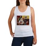 Santa's Yorkie (#13) Women's Tank Top