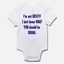 I'm Not Bossy Infant Bodysuit