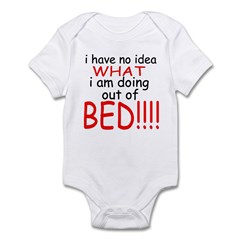 Out Of Bed Infant Bodysuit