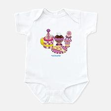 Kawaii Purple Pizza Party Infant Bodysuit