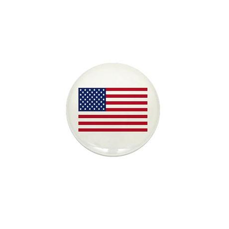 US Flag Mini Button (100 pack)