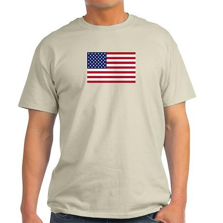 US Flag Light T-Shirt