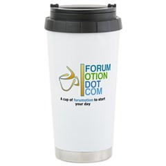 Forumotion Cup tea Stainless Steel Travel Mug