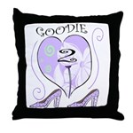 Goodie Two Shoes Throw Pillow