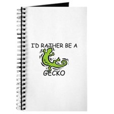 I'd Rather Be A Gecko Journal