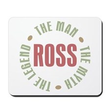 Ross Man Myth Legend Mousepad