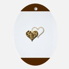 Cookie Gift Oval Ornament