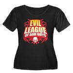Evil League Of Bad Guys Women's Plus Size Scoop Ne