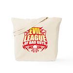 Evil League Of Bad Guys Tote Bag