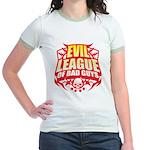 Evil League Of Bad Guys Jr. Ringer T-Shirt