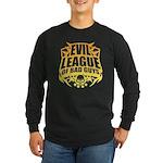 Evil League Of Bad Guys Long Sleeve Dark T-Shirt